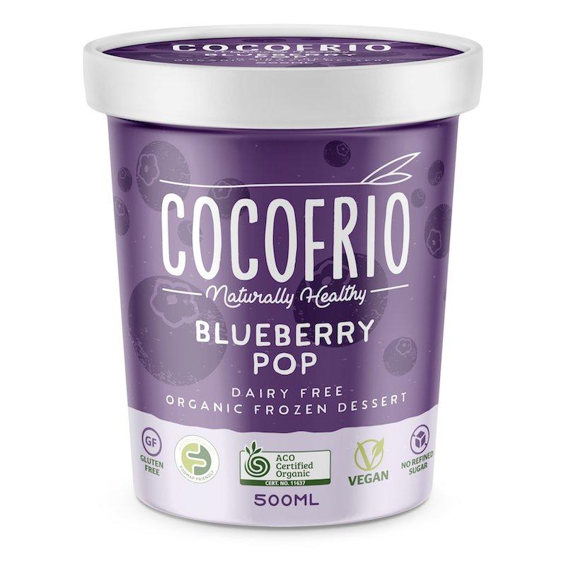 COCOFRIO - BLUEBERRY POP 500ML (FROZEN BOX OF 6)