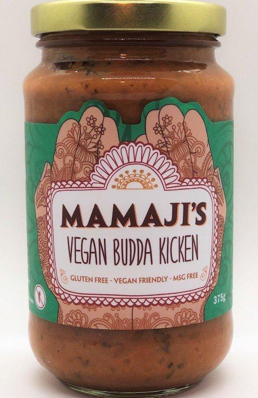 MAMAJI'S VEGAN BUDDA KICKEN 375G (BOX OF 6)