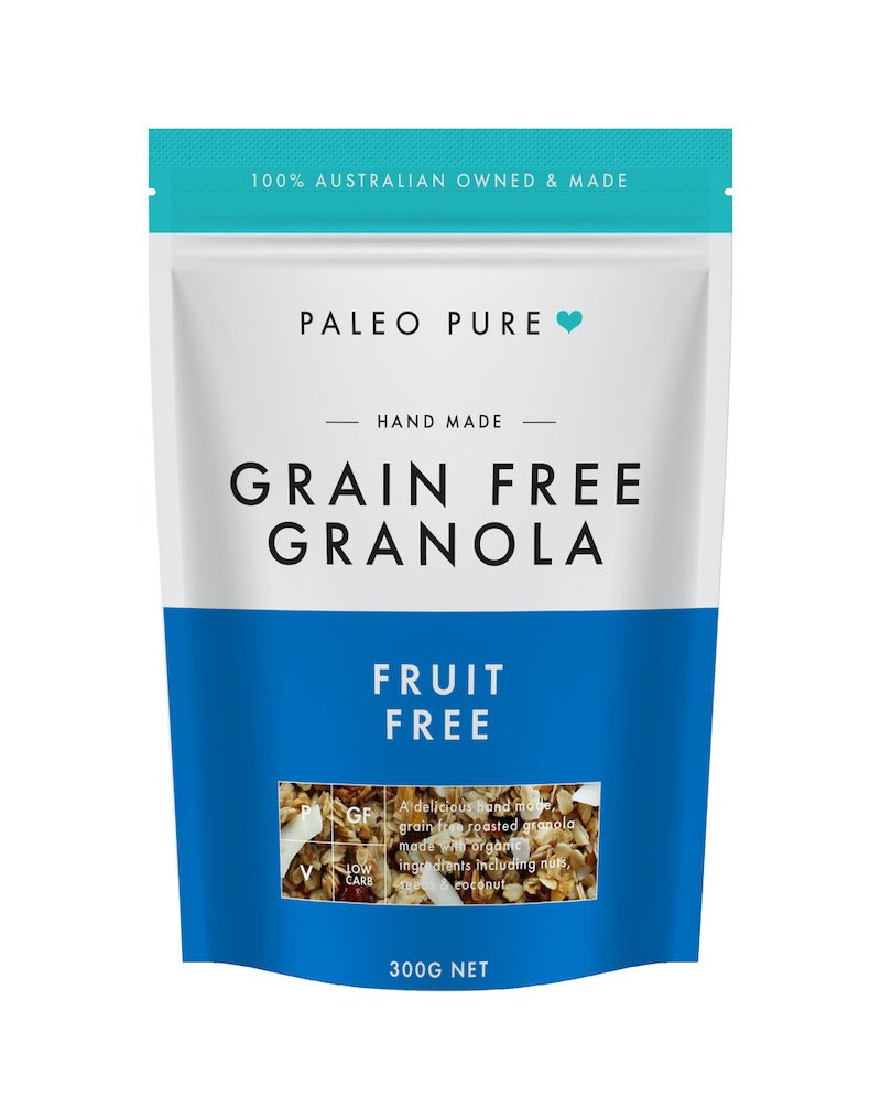 PALEO PURE ORGANIC GRANOLA FRUIT FREE 300G (BOX OF 6)