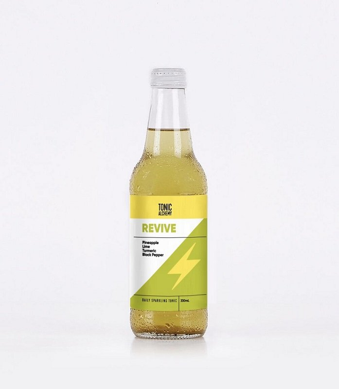 "TONIC ALCHEMY SPARKLING ""REVIVE"" 330ML (BOX OF 12)"