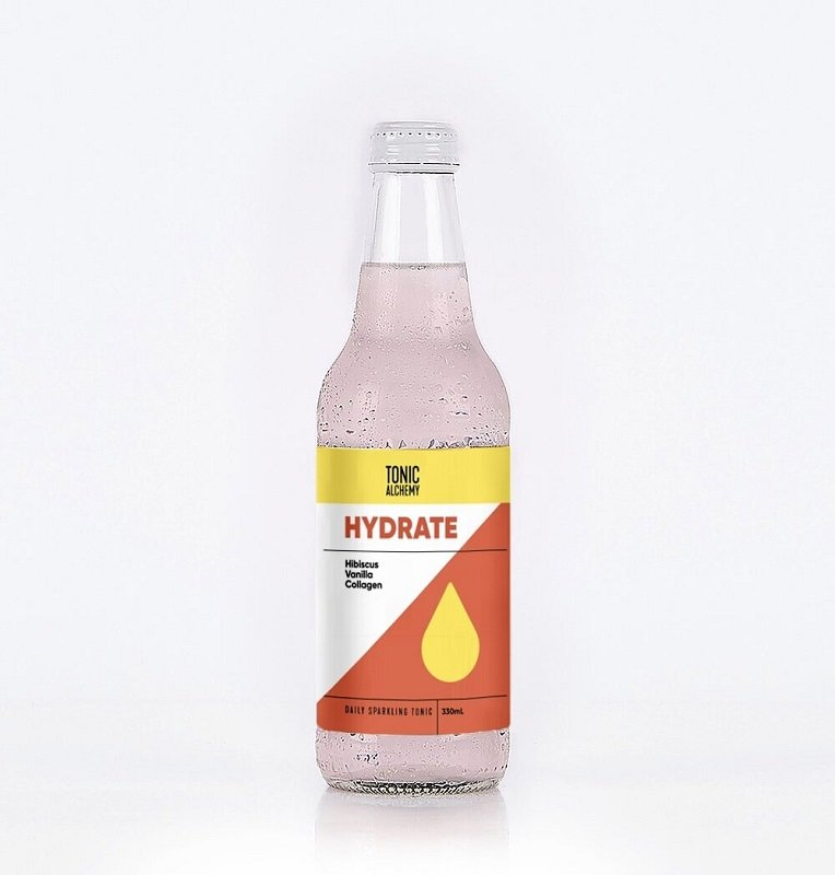 "TONIC ALCHEMY SPARKLING ""HYDRATE"" 330ML (BOX OF 12)"