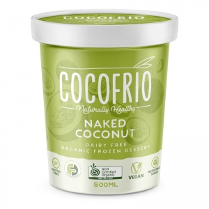 COCOFRIO - NAKED COCONUT 500ML (FROZEN BOX OF 6)