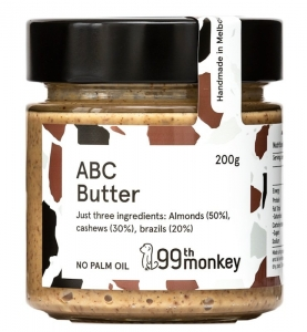99TH MONKEY - ABC BUTTER (BOX OF 6)