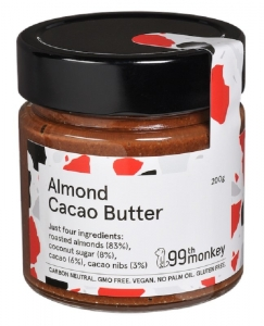 99TH MONKEY ALMOND CACAO BUTTER 200G (BOX OF 6)