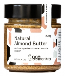 99TH MONKEY - NATURAL ALMOND BUTTER (BOX OF 6)