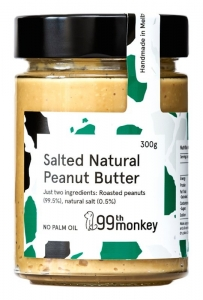 99TH MONKEY - SALTED NATURAL PEANUT BUTTER (BOX OF 6)