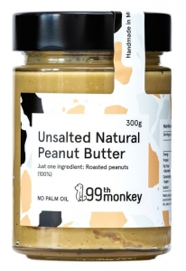 99TH MONKEY - UNSALTED NATURAL PEANUT BUTTER (BOX OF 6)