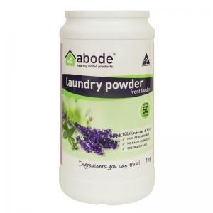 Abode Front & Top Loader Laundry Powder Lavender & Mint  1kg (BOX OF 6)