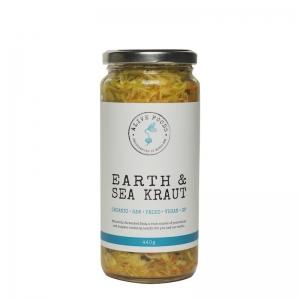 ALIVE FOODS EARTH SEA KRAUT 440G (BOX OF 6)