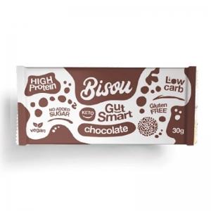 BISOU KETO CHOCOLATE 30G (BOX OF 12)