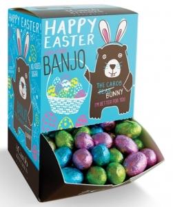 BANJO FOILED EGG DISPENSER (BOX OF 134)