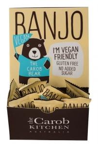 BANJO THE **VEGAN** CAROB BEAR 15G (BOX OF 50)