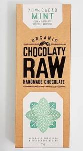 CHOCOLATY RAW MINT 75G (BOX OF 12)