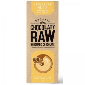 CHOCOLATY RAW NUTS 75G (BOX OF 12)
