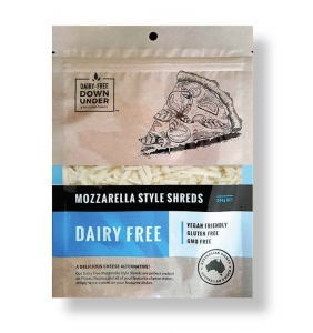 DAIRY FREE DU - MOZZARELLA STYLE SHREDS 200G (BOX OF 8)