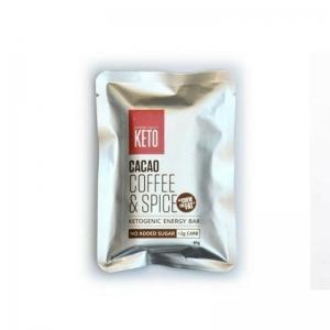 ESSENTIALLY KETO COFFEE SPICE BAR 45G (BOX OF 12)