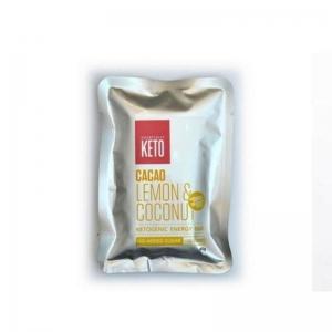 ESSENTIALLY KETO LEMON COCONUT BAR 45G (BOX OF 12)