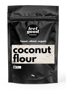 FEEL GOOD ORGANIC COCONUT FLOUR 1KG (BOX OF 6)