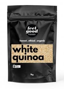 FEEL GOOD ORGANIC WHITE QUINOA 1KG (BOX OF 6)