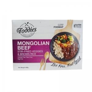 FODDIES MONGOLIAN BEEF LOW FODMAP FROZEN MEAL 300G (BOX OF 6)