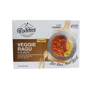 FODDIES VEGGIE RAGU LOW FODMAP FROZEN MEAL 300G (BOX OF 6)