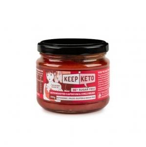 KEEP KETO ROAST CAPSICUM & CHILLI RELISH 300G (BOX OF 6)