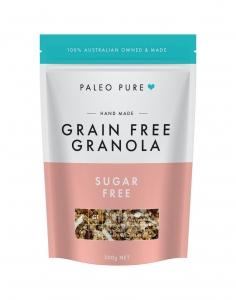 PALEO PURE ORGANIC GRANOLA SUGAR FREE 300G (BOX OF 6)