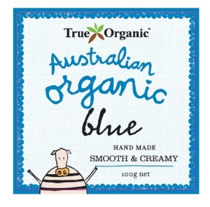 TRUE ORGANIC BLUE CHEESE 100G (BOXES OF 8)