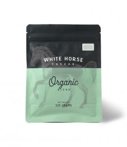 WHITE HORSE ORGANIC COFFEE GROUND FRECH PRESS 225G (BOX OF 4)